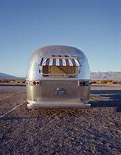 Airstream Death Valley by William Lemke (Color Photograph)