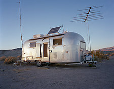 Airstream South of Death Valley by William Lemke (Color Photograph)