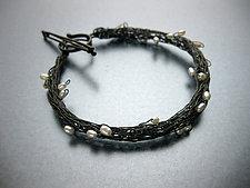 Ariadne Bracelet by Randi Chervitz (Silver & Pearl Bracelet)