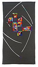 Color Vortex by Cindy Grisdela (Fiber Wall Hanging)