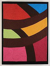 Color Weave by Cindy Grisdela (Fiber Wall Hanging)