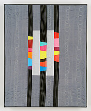 Cascades II by Cindy Grisdela (Fiber Wall Hanging)