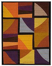 Autumn Maze by Cindy Grisdela (Fiber Wall Hanging)
