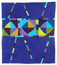 Carousel II by Cindy Grisdela (Fiber Wall Hanging)
