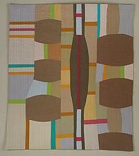 Transit by Cindy Grisdela (Fiber Wall Hanging)