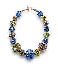 Galaxy Necklace by Sheila Fernekes (Beaded Necklace)