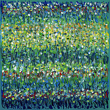 Lush Meadow by Lynne Taetzsch (Acrylic Painting)