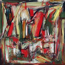 Open Window by Lynne Taetzsch (Acrylic Painting)