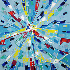 Modern Art One by Lynne Taetzsch (Acrylic Painting)