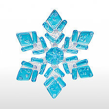 Special Snowflake by Denise Childs (Art Glass Ornament)