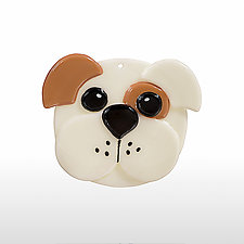 Buster by Denise Childs (Art Glass Ornament)