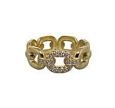 Nesso Ring by Veronica Eckert (Gold & Stone Ring)