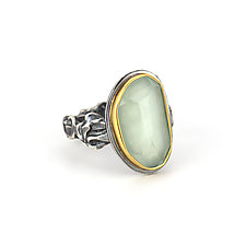 Aquamarine Tangle Ring by Janet Blake (Gold, Silver & Stone Ring)
