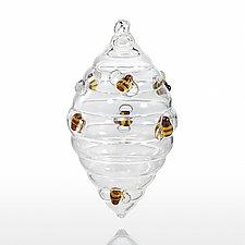 Honey, Honey by Sage Churchill-Foster (Art Glass Ornament)