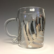 Fern Mug by Sage Churchill-Foster (Art Glass Mug)