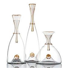 Oro Decanter by Vetro Vero (Art Glass Decanter)