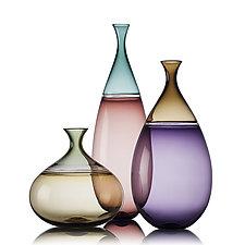 Goccia Vessel by Vetro Vero (Art Glass Vessel)