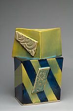 Form Intersections 12 by Ted Sutherland (Ceramic Sculpture)