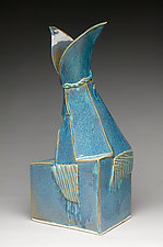Blue Dreams by Ted Sutherland (Ceramic Sculpture)