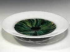 Eye Bowl by John Gibbons (Art Glass Bowl)