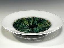 Eye Bowl by John Gibbons (Art Glass Bowl)