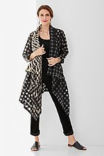 Bold Plaid Kate Jacket by Steve Sells Studio (Woven Jacket)