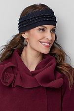Hand Beaded Wool Tuck Headband by Vilma Mare (Wool Headband)