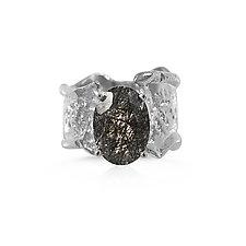 Ripple Ring by Kristen Baird (Silver & Stone Ring)