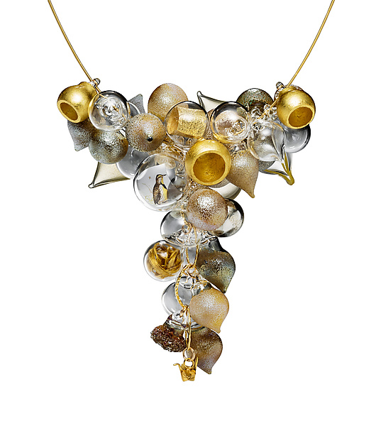Golden Meringue Necklace