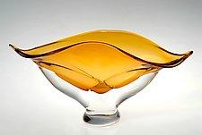 Wave Bowl by Ed Branson (Art Glass Bowl)