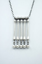 Cinquefall Necklace by Ayala Naphtali (Silver Necklace)