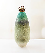 In the Tall Grass by Natalie Blake (Ceramic Vessel)