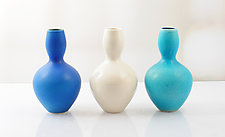 Cool Breeze Aladdin's Wish Vessels by Natalie Blake (Ceramic Vessel)