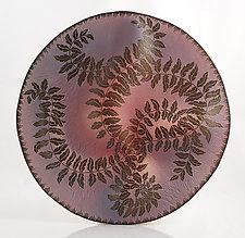Unfurling by Natalie Blake (Ceramic Wall Sculpture)