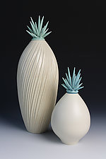 Sea Spray Urchins by Natalie Blake (Ceramic Vessel)