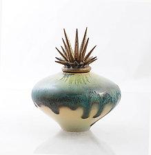 Ocean's Dream by Natalie Blake (Ceramic Vessel)
