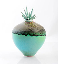 Sand and Sea by Natalie Blake (Ceramic Vessel)