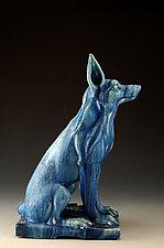Sentinel 1 by Daniel Slack (Ceramic Sculpture)