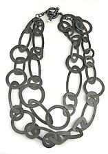 Silver Loop Necklace by Alexan Cerna (Jewelry Necklaces)