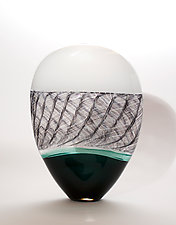 Scottish Highlands by Bengt Hokanson and Trefny Dix (Art Glass Sculpture)
