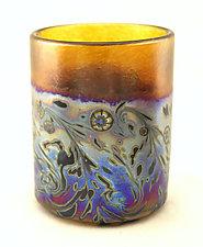 Monet Glasses by Ken Hanson and Ingrid Hanson (Art Glass Drinkware)
