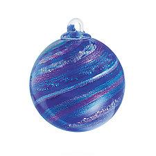 Stardust by Ken Hanson and Ingrid Hanson (Art Glass Ornament)