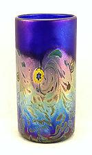 Monet Tumblers by Ken Hanson and Ingrid Hanson (Art Glass Drinkware)