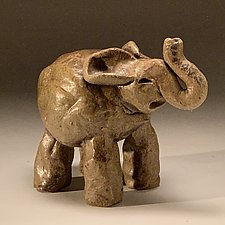 Little Elephant by Steve Murphy (Ceramic Sculpture)