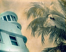 Art Deco III by Elizabeth Holmes (Hand-Colored Photograph)