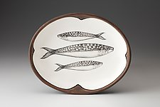 Small Serving Dish: Sardine by Laura Zindel (Ceramic Platter)