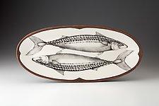 Platter: Mackerel by Laura Zindel (Ceramic Platter)