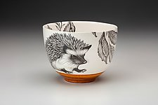 Small Hedgehog Bowl by Laura Zindel (Ceramic Bowl)