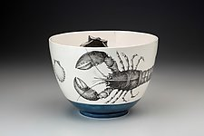 Lobster Bowl by Laura Zindel (Ceramic Bowl)
