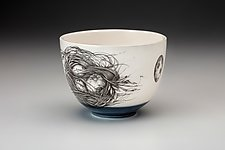 Quail Nest Bowl by Laura Zindel (Ceramic Bowl)